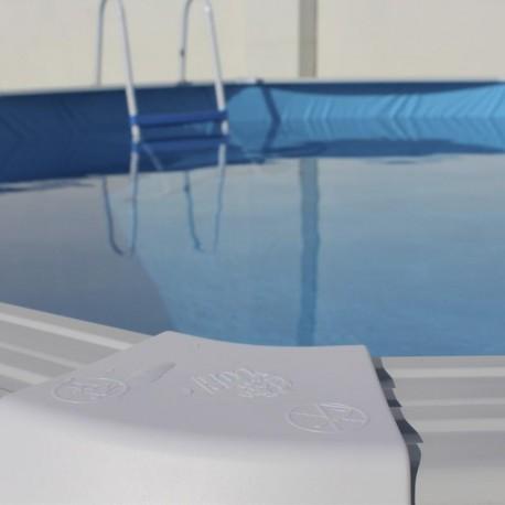 Piscina TRENCADÍS CIRCULAR 460x120 cm Filtro 3,6 m³/h. piscinas desmontables