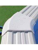 Piscina TRENCADÍS CIRCULAR 450x90 cm Filtro cartucho 2 m³/h. piscina desmontable