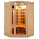 Sauna cabina rayos infra-rojos