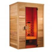 Sauna cabina infra-rojos de cuarzo y magnesio