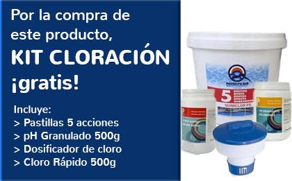 + Kit de Cloración Gratis
