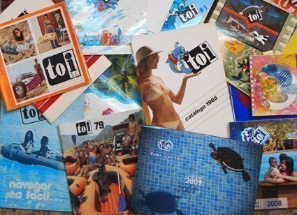 catálogos históricos piscinas toi